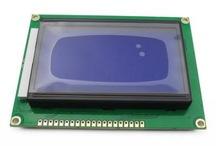 LCD дисплей 128x64 ST7920