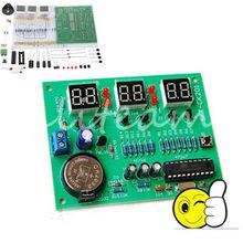 Часы для самостоятельной сборки на AT89C2051 6 цифр