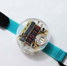 Набор для сборки цифровые наручные часы