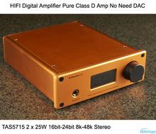 Цифровой усилитель мощности TAS5715 2x25W 16-24bit 8-48k