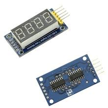 LED дисплей с последовательным вводом данных HC595