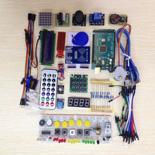 Стартовый набор Arduino Mega2560 r3 motor servo, RFID, Ultrasonic Ranging, relay, LCD