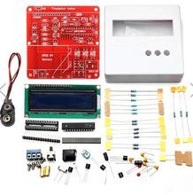 Набор для самостоятельной сборки тестера полупроводников, LCR, ESR метра. ATMEGA328 + пластиковый корпус