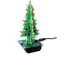 Набор для самостоятельной сборки мигающей новогодней ёлки